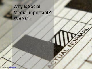 Why Is Social Media Important?:  Statistics
