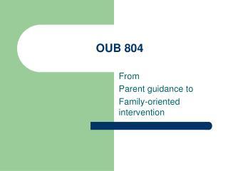 OUB 804