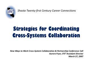 Shasta Twenty-first Century Career Connections