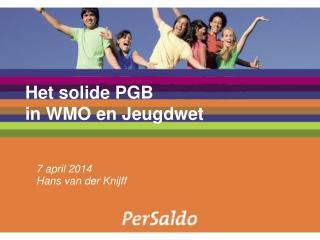 Het solide PGB   in WMO en Jeugdwet