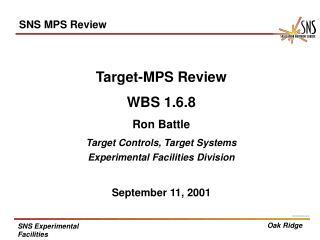 SNS MPS Review