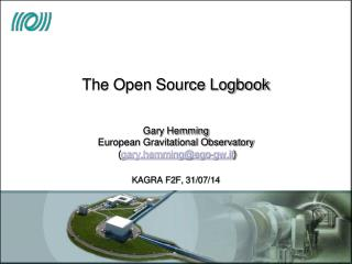 The Open Source Logbook