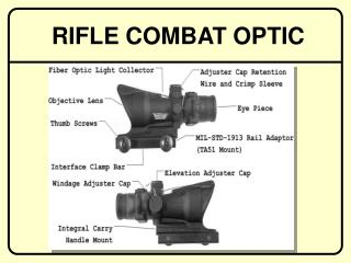 RIFLE COMBAT OPTIC