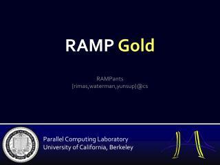 RAMP  Gold
