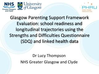 Dr Lucy Thompson NHS Greater Glasgow and Clyde