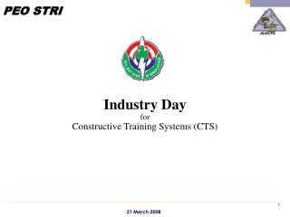 Industry Day for  Constructive Training Systems (CTS)
