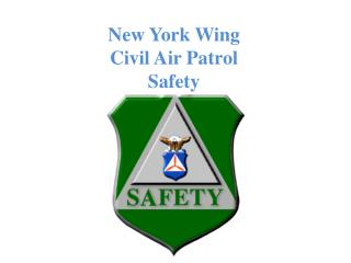 New York Wing  Civil Air Patrol Safety