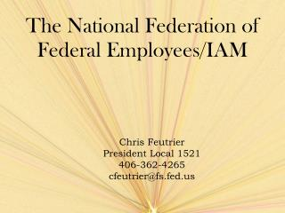 The National Federation of Federal Employees