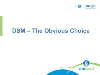 DSM – The Obvious Choice