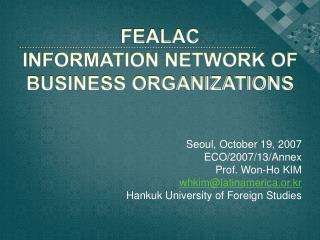 FEALAC Information Network of Business Organizations