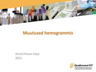 Muutused hemogrammis