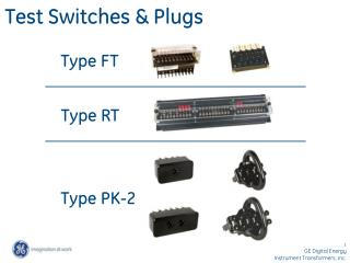 Test Switches  Plugs