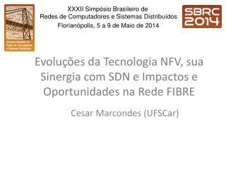 Evoluções da Tecnologia NFV, sua Sinergia com SDN e Impactos e Oportunidades na Rede FIBRE