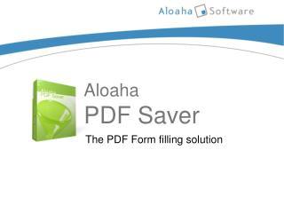 Aloaha PDF Saver