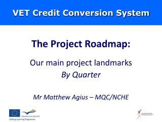 VET Credit Conversion System