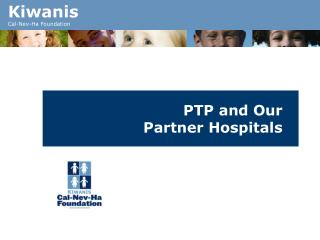 PTP and Our Partner Hospitals