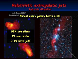 Relativistic extragalatic jets