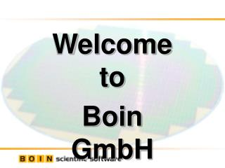 Welcome  to  Boin GmbH