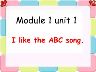 Module 1 unit 1