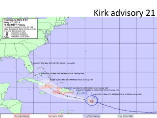 Kirk advisory 21