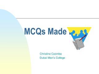 MCQs Made Easy