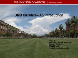 OMB Circulars– An Introduction
