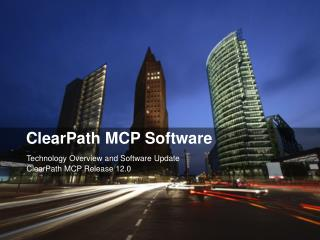ClearPath MCP Software