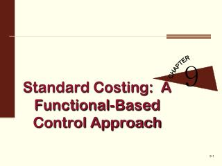 Standard Costing:  A Functional-Based Control Approach