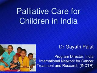 Palliative Care for Children in India