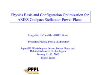 Physics Basis and Configuration Optimization for ARIES Compact Stellarator Power Plants