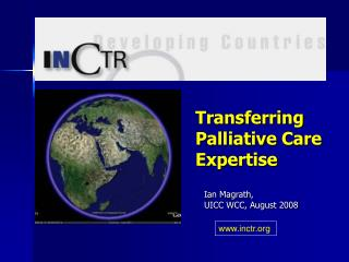 Transferring Palliative Care Expertise