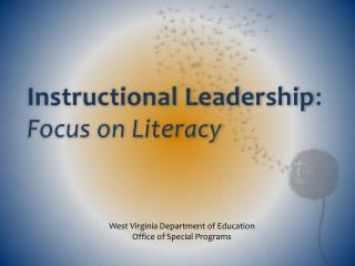 Instructional Leadership : Focus on Literacy