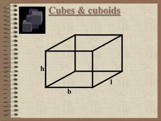 Cubes & cuboids