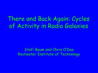 There and Back Again: Cycles of Activity in Radio Galaxies