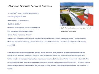 Chapman Graduate School of Business