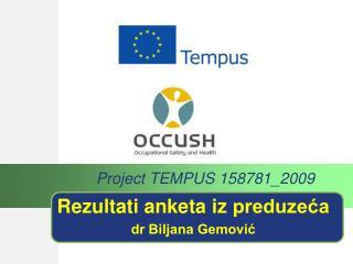 Rezultati anketa  iz  preduzeća dr Biljana Gemović