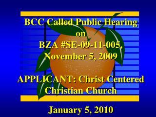 January 5, 2010