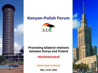 Kenyan-Polish Forum