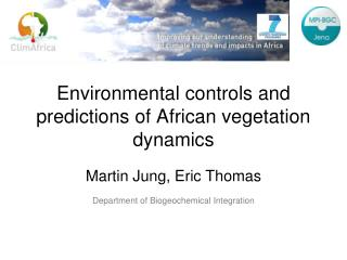 Environmental controls and predictions of African vegetation dynamics