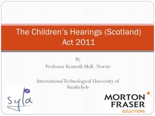 The Children's Hearings (Scotland) Act 2011