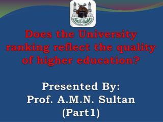 ترتيب الجامعات Universities Ranking
