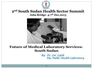 2 nd  South Sudan Health Sector Summit  Juba Bridge- 4-7 th  Dec,2013