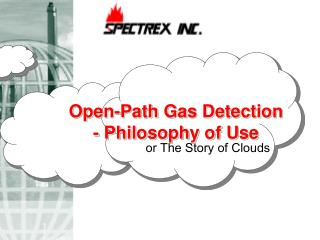 Open-Path Gas Detection      - Philosophy of Use