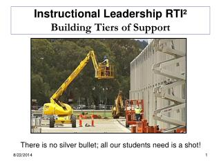 Instructional Leadership RTI²  Building Tiers of Support