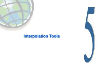 Interpolation Tools