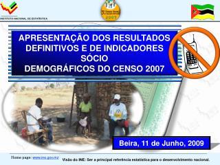 Beira,  11 de  Junho, 2009