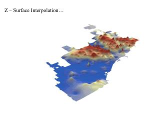 Z � Surface Interpolation�