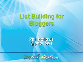 List Building for Bloggers