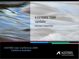 KISTERS TSM  Update Michael Natschke
