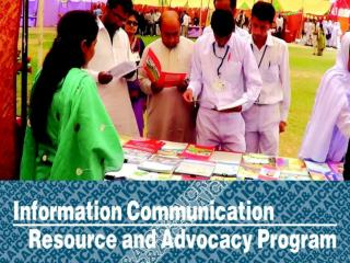 Information Communication Resource and Advocacy (ICR & A) Program